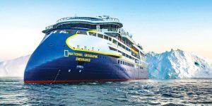 Así es el National Geographic Endurance, un nuevo crucero diseñado para explorar aguas polares — las reservas están disponibles a partir de junio
