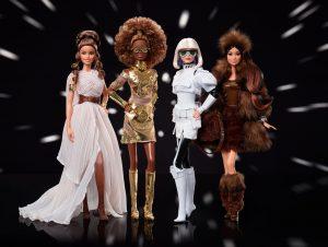 Mattel lanza 4 nuevas muñecas Barbie de 'Star Wars' — y los coleccionistas pagarán hasta 100 dólares por ellas