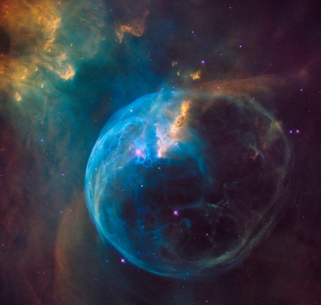 nebulosa de la Burbuja espacio universo