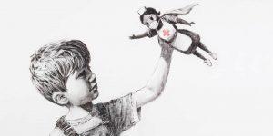 Banksy rinde homenaje al personal médico que lucha contra el coronavirus en Inglaterra