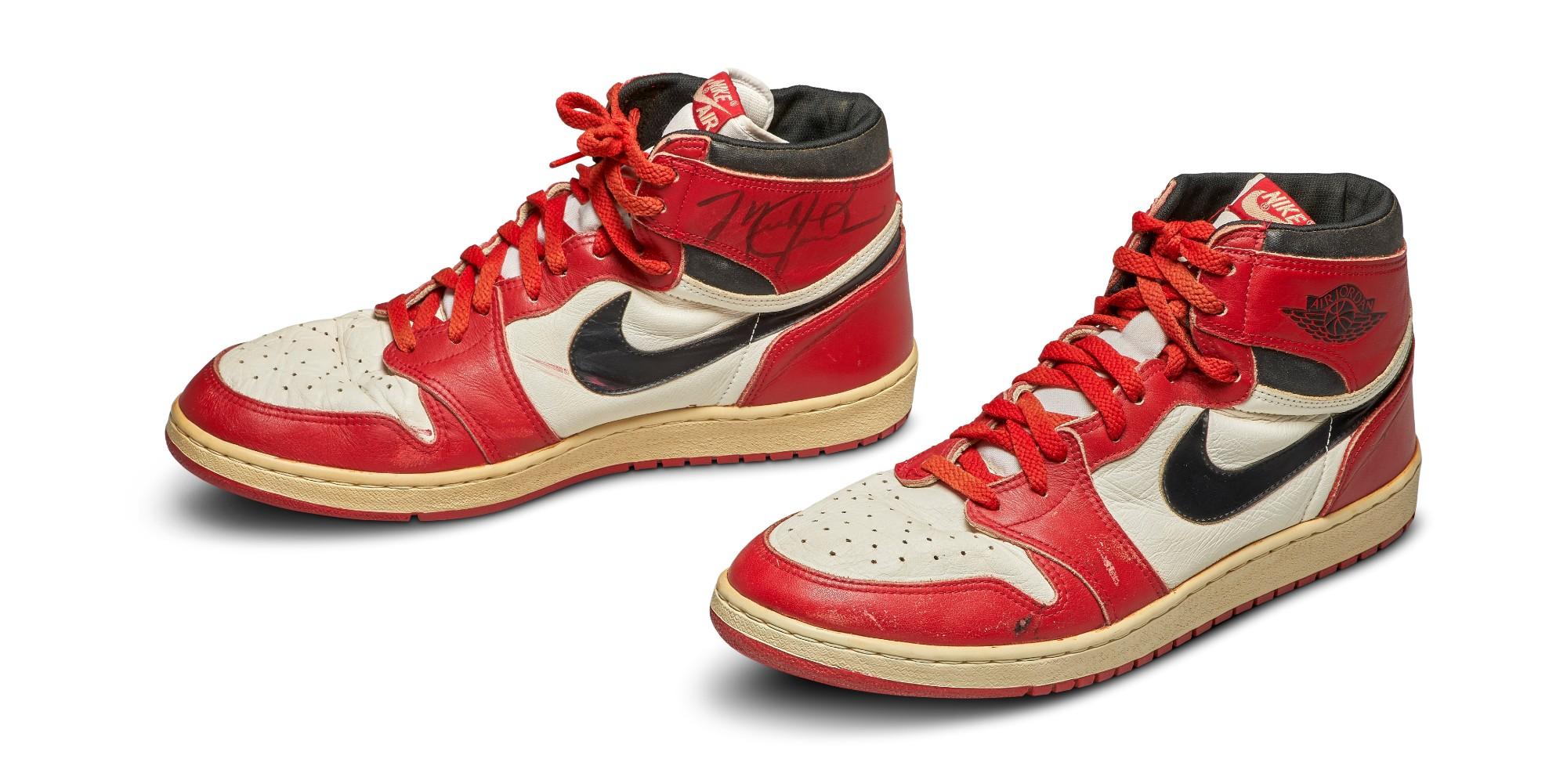 Eficacia Facturable Rudyard Kipling  Los primeros tenis Air de Michael Jordan serán subastadas
