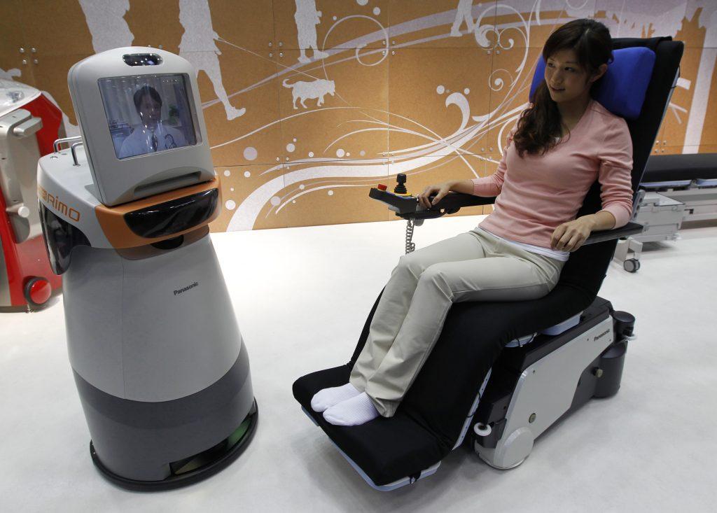tecnología de voz robot inteligencia medicina