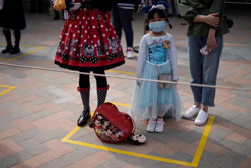 Disney China Covid