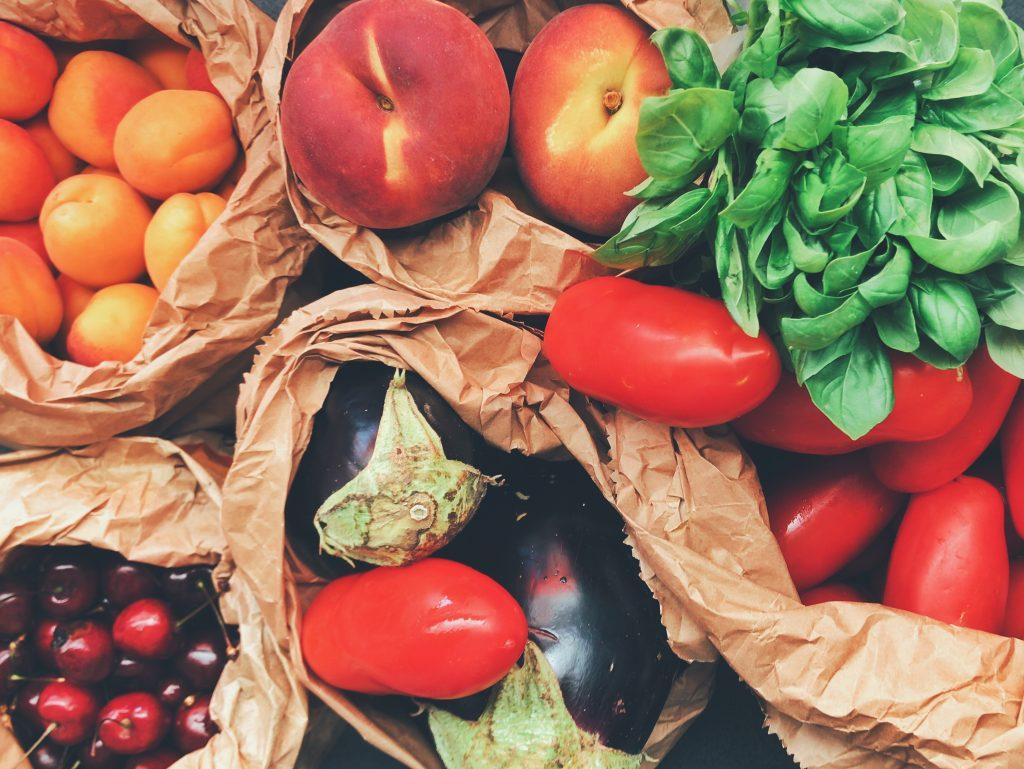 frutas verduras hierbas