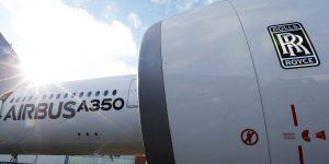 Fabricante británico de motores de avión Rolls-Royce eliminará 9,000 empleos, debido a la parálisis del tráfico aéreo por el Covid-19