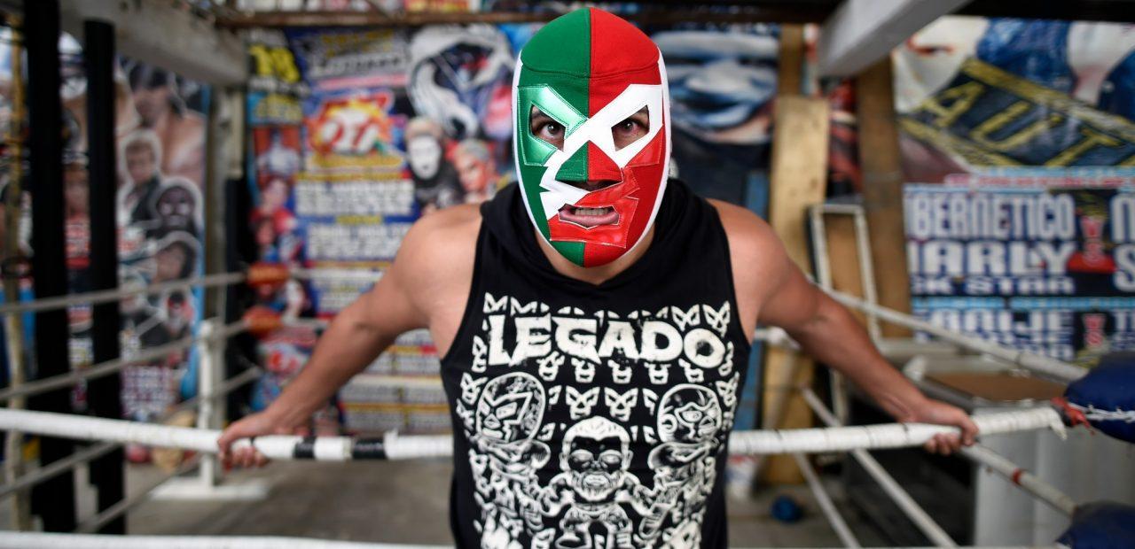 luchadores mexicanos coronavirus