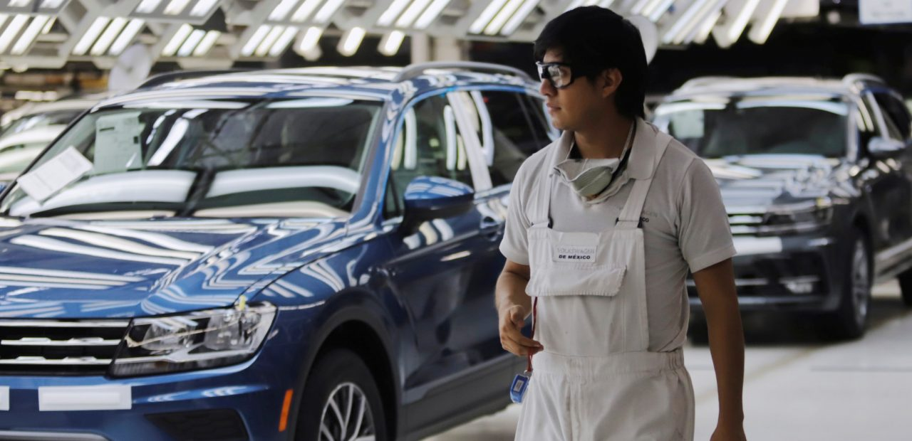 Industria automotriz Puebla Volkswagen