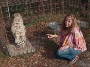 Carole Baskin dice que no está segura de si Big Cat Rescue se abrirá nuevamente al público después de 'Rey Tigre'