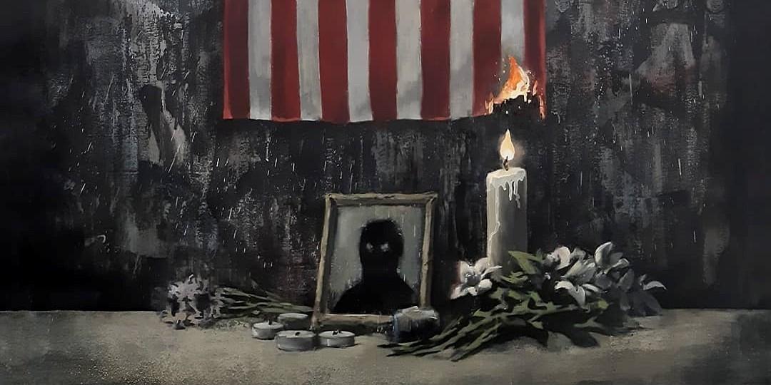 Banksy George Floyd
