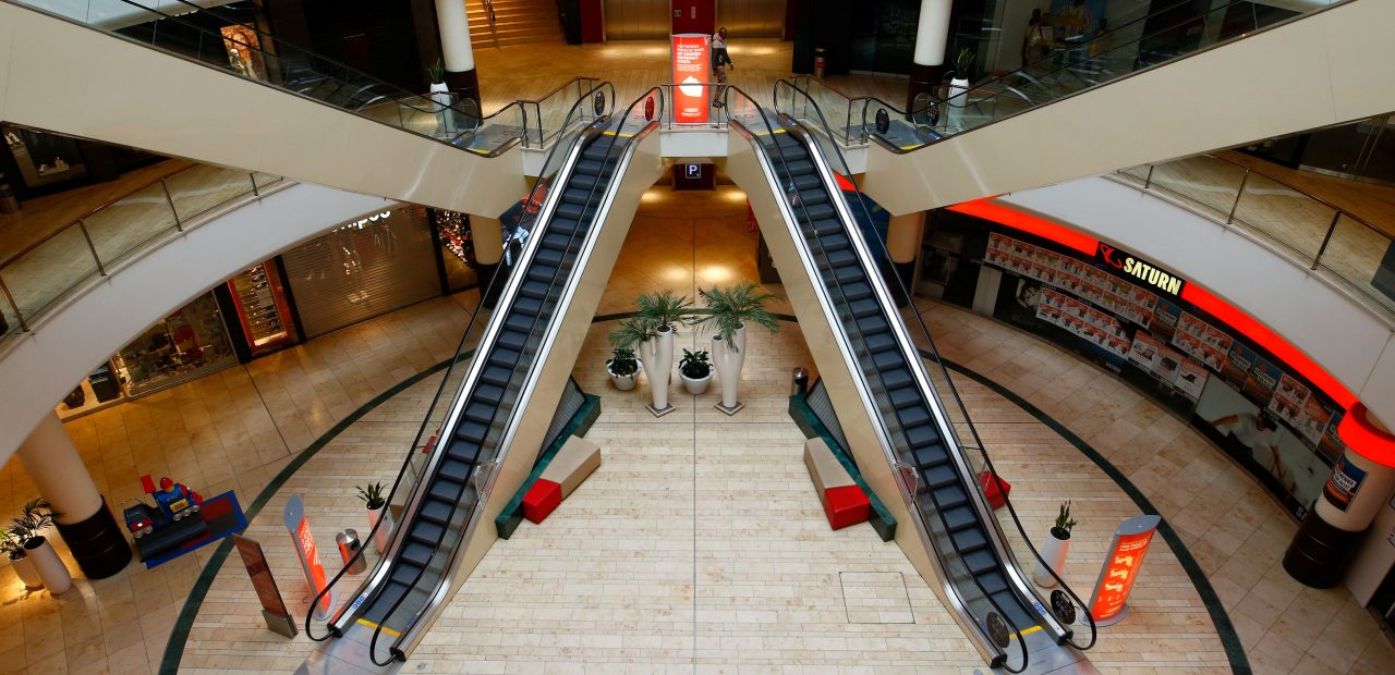tiendas centros comerciales