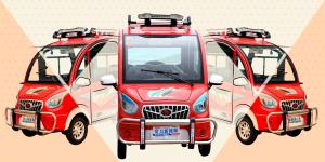 El auto eléctrico más barato del mundo se llama Changli y puedes comprarlo por 20,000 pesos en Alibaba