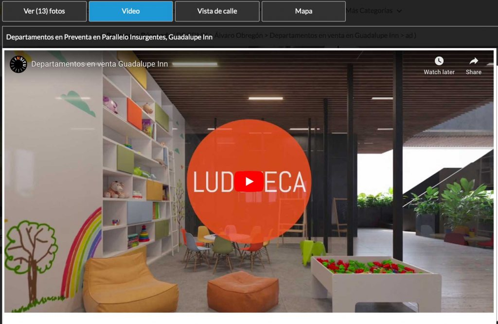 recorridos virtuales inmobiliarias