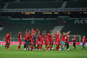 El Bayern Múnich se corona campeón de la Bundesliga por octava ocasión consecutiva