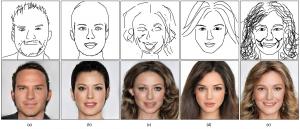 DeepFaceDrawing: el software de Inteligencia Artificial que crea rostros realistas a base de bocetos