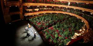 Un cuarteto de cuerda tocó un concierto para una audiencia de casi 2,300 plantas — ve la presentación completa