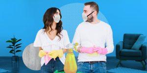 Aquí te decimos cómo limpiar tu casa y tu lugar de trabajo para dejarlos libres de coronavirus