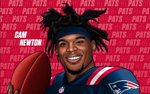 Cam Newton, el nuevo quarterback de los Patriots de Nueva Inglaterra tiene solo una temporada para demostrar que es el sustituto ideal de Tom Brady