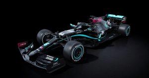 """Mercedes correrá la temporada 2020 de la Fórmula 1 con autos de color negro para """"terminar con el racismo"""""""