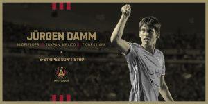 Jürgen Damm es el nuevo jugador del Atlanta United — y te contamos todo lo que tienes que saber sobre este club de la MLS