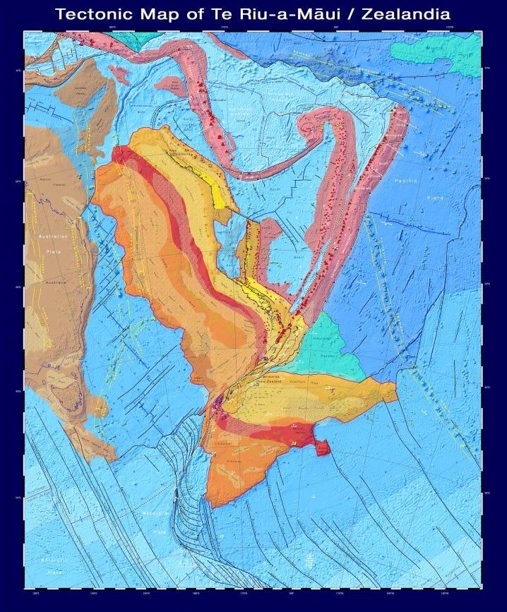 mapa zealandia