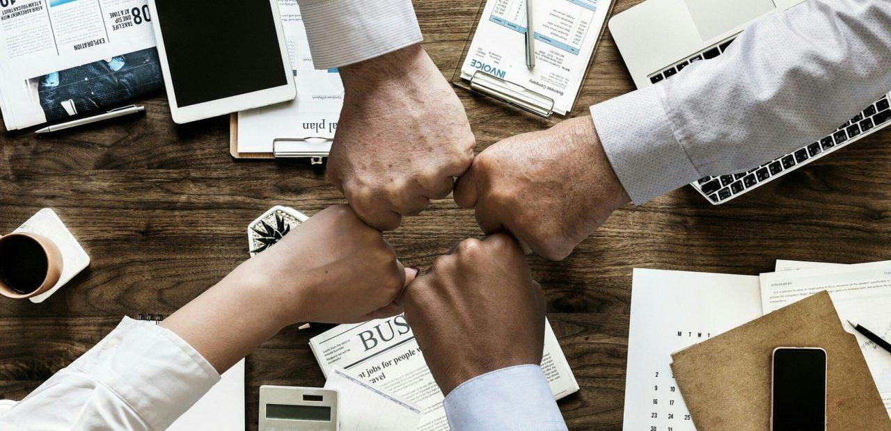 empresas negocios trabajo equipo oficina pandemia coronavirus