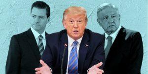 4 coincidencias entre las reuniones de Peña Nieto y AMLO con Donald Trump – a 4 años de distancia entre cada una