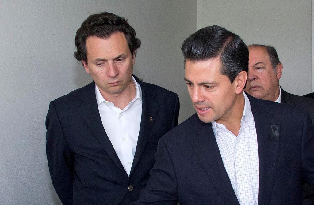 Emilio Lozoya y Enrique Peña Nieto