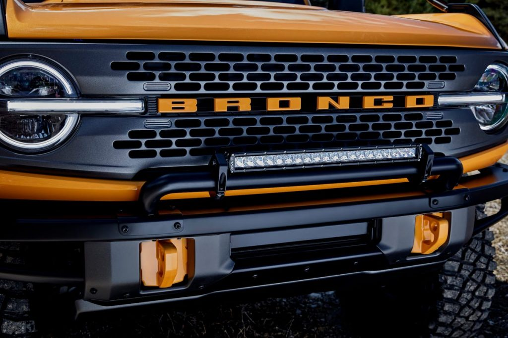 Ford Bronco | Parrilla | Business Insider México
