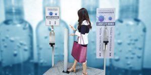 Dispensadores de gel antibacterial: la oportunidad de negocio que nació en medio de la pandemia