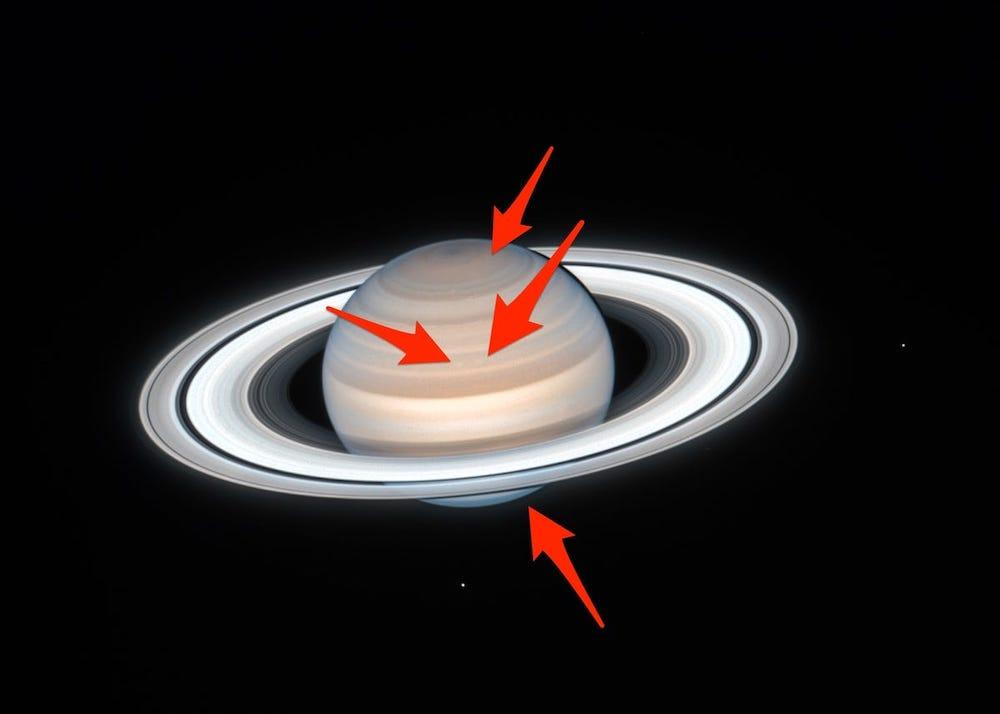 Astrónomos toma imagen del invierno y verano de Saturno | Business Insider México