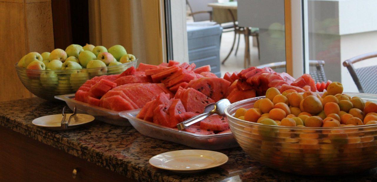 hoteles vacaciones turismo buffet comida restaurante