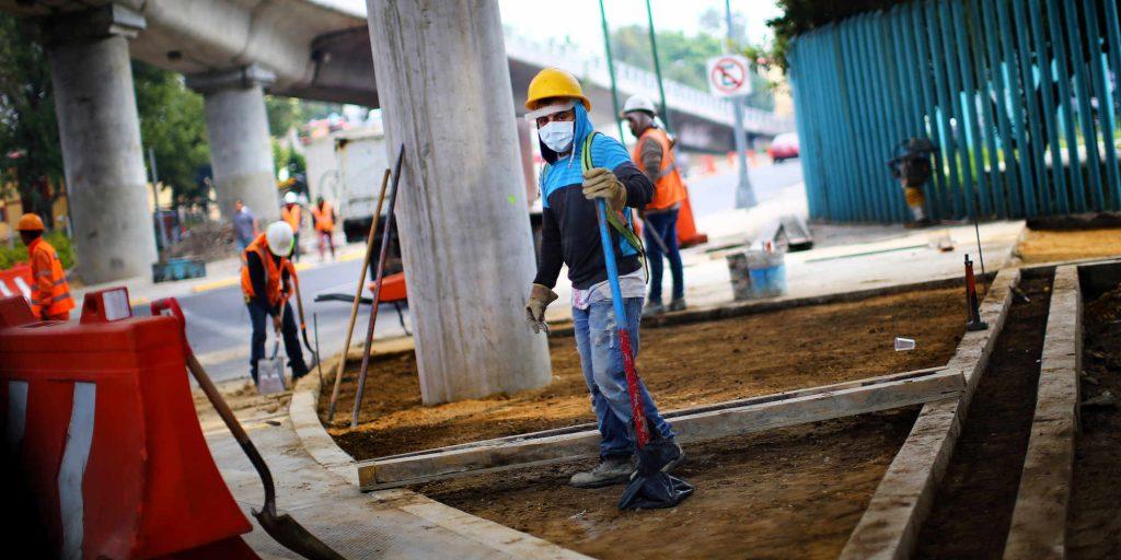 empleo en México construcción