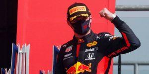 Max Verstappen se coronó campeón del GP 70 en el aniversario de la F1