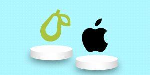 ¿Crees que esta pera parece una manzana? Apple piensa que sí y por eso demanda a una aplicación de comida saludable llamada Prepear