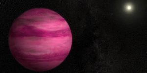 La NASA descubre un exoplaneta gaseoso completamente rosa