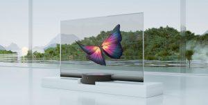 La televisión 'invisible' de Xiaomi: una pantalla OLED transparente de 55 pulgadas y la primera en ser producida en masa