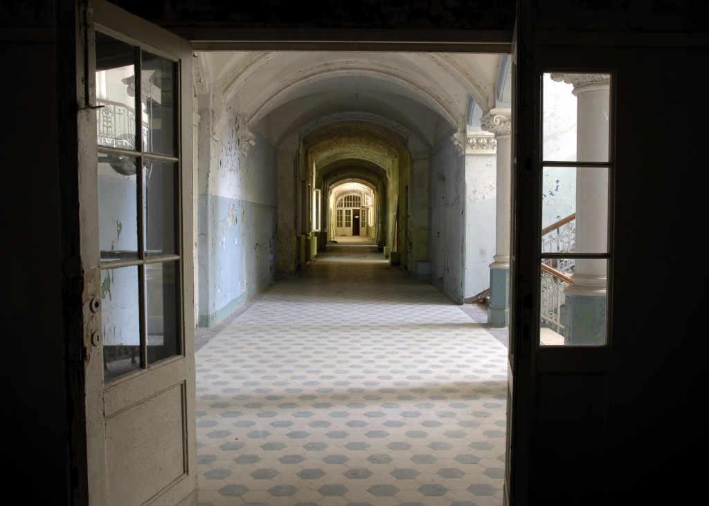lugares abandonados Beelitz