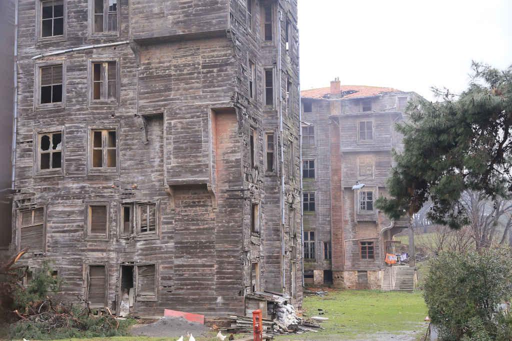 lugares abandonados Turquia