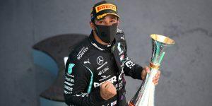 Lewis Hamilton gana el GP de España y se convierte en el piloto con más podios en la historia de la F1