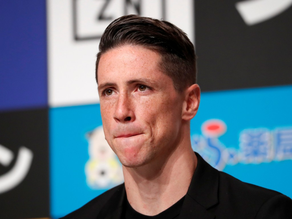 Fernando Torres japón