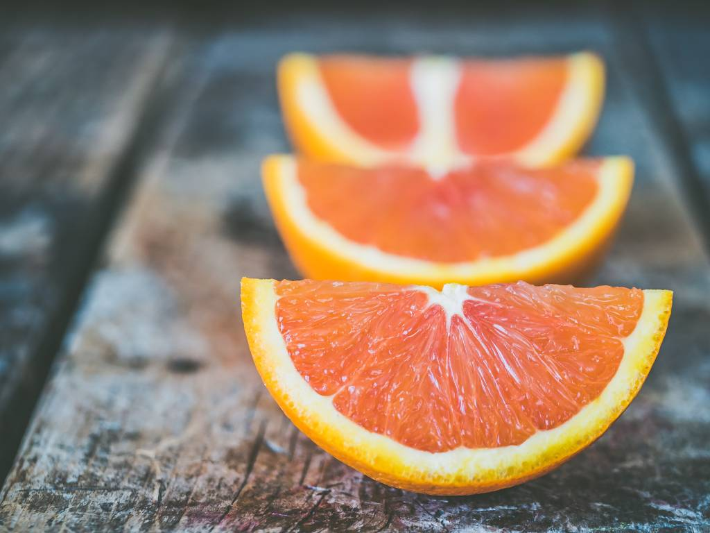 naranja frutas