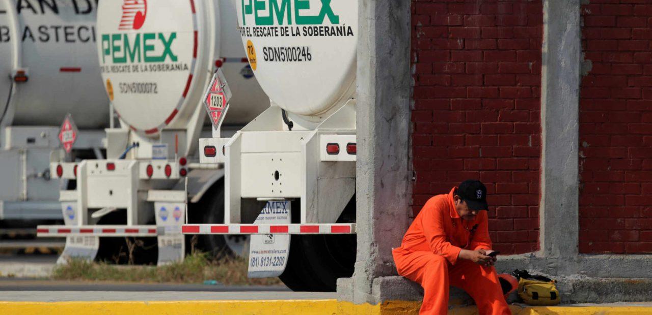 producción Pemex