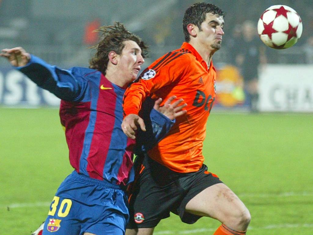 Lionel Messi 2004
