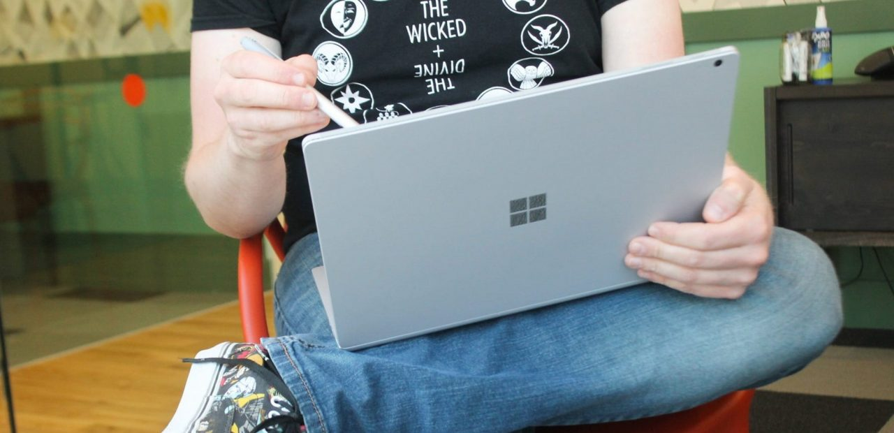 Surface Pro de Microsoft.