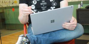 Cómo tomar capturas de pantalla en la Surface Pro de Microsoft, una tablet que se convierte en laptop