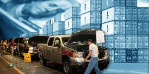 La industria automotriz salva a las exportaciones manufactureras; y posiblemente también a la economía de México