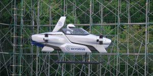 SkyDrive realizó con éxito la primera prueba de un auto volador en Japón