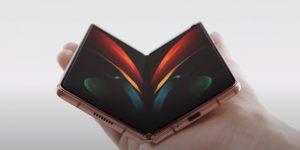 Galaxy Z Fold2 es el teléfono plegable más grande de Samsung… y también el más caro