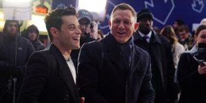 Así se ve Rami Malek, el nuevo villano del 007, en la última película de Daniel Craig como James Bond
