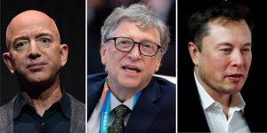 Elon Musk, Jeff Bezos, Mark Zuckerberg y los otros multimillonarios tecnológicos más ricos perdieron un total de 44,000 millones de dólares esta semana